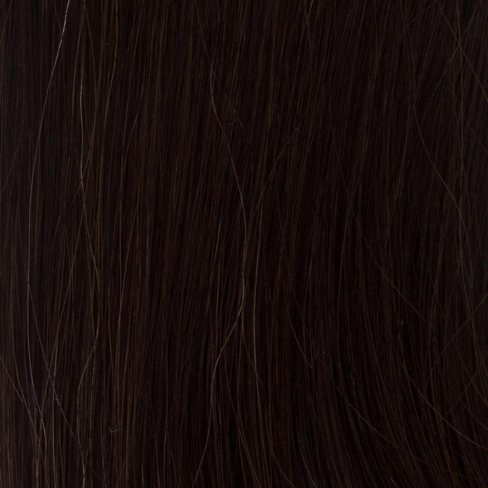 Mocha Brown Clip In Hair Colour 1C