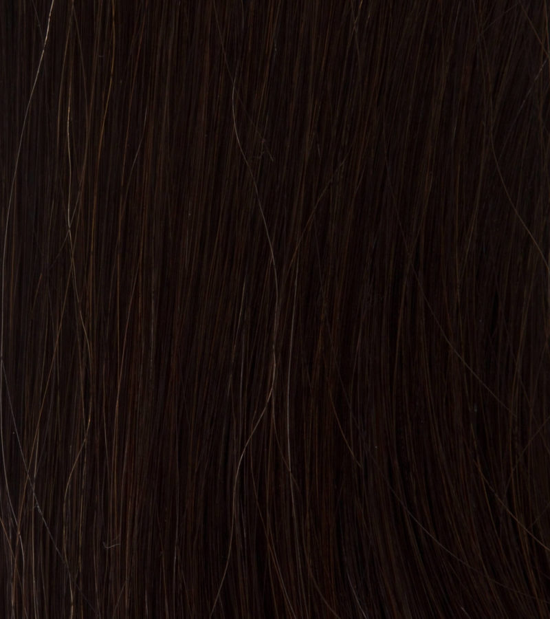 Mocha Brown Clip In Hair Colour 1C